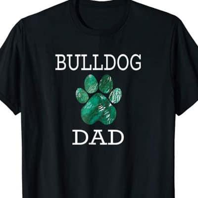 Bulldog Dog Dad shirt