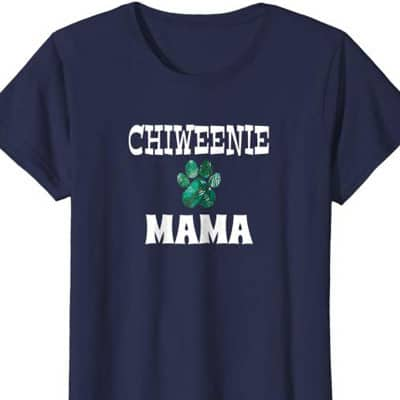 Chiweenie Mama Dog Mom shirt