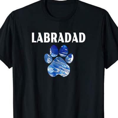 Barking Laughs Dog Dad shirt for the Labradad