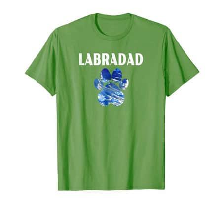 Labradad Dog Dad t-shirt grass