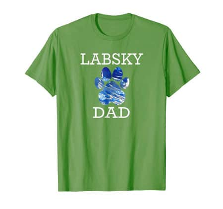 Labsky Dog Dad t-shirt grass
