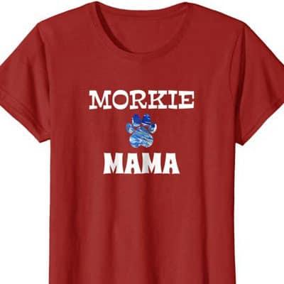Morkie Mama Dog Mom shirt
