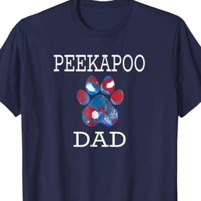 Peekapoo Dog Dad shirt