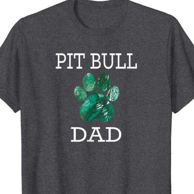 Pit Bull Dog Dad shirt