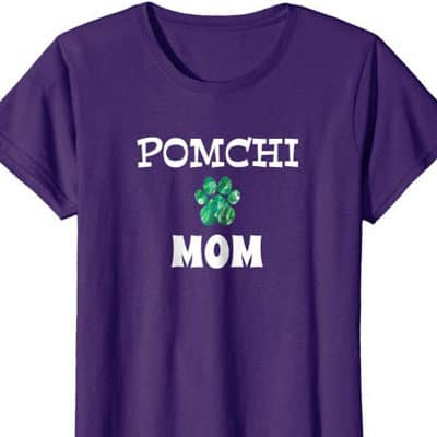 Pomchi Dog Mom shirt