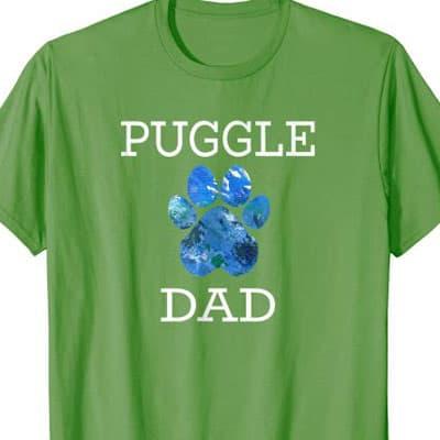 Puggle Dog Dad shirt