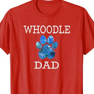 Whoodle Dog Dad shirt