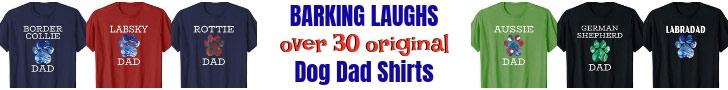 dog dad banner
