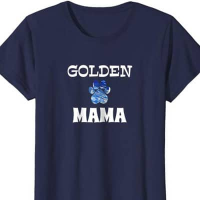 Barking Laughs Dog Mom shirt for the Golden
