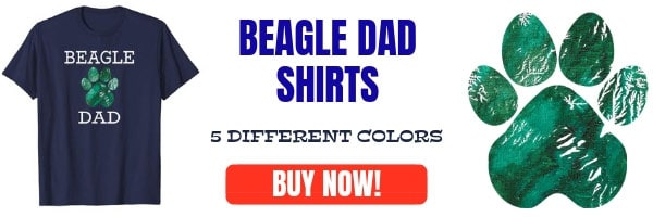 Beagle Dad T-shirts
