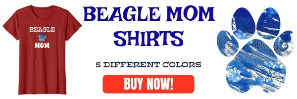 Beagle mom shirts