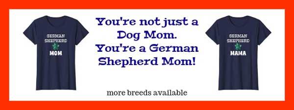 german shepherd mom shirt banner