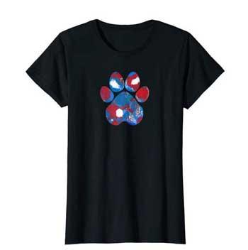 New Glory Woman Paws shirt Black