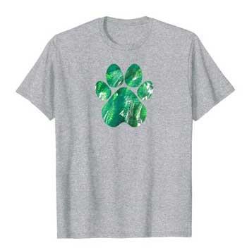 Emerald mens Paws shirt gray
