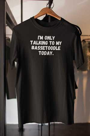bassetoodle shirt