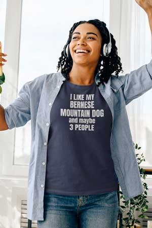 bernese mountain dog mom shirt