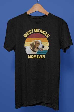 Best Beagle Mom Ever shirt