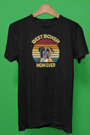 Best Boxer Mom ever shirt