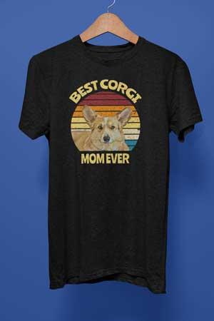 Best Corgi Mom Ever shirt