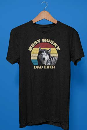 Best Husky Dad Ever shirt