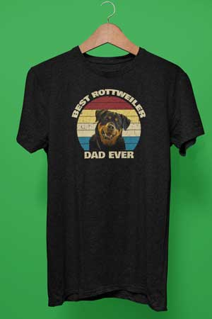 Best Rottweiler Dad Ever