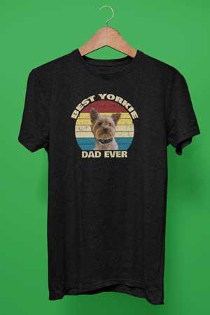 Best Yorkie Dad Ever shirt