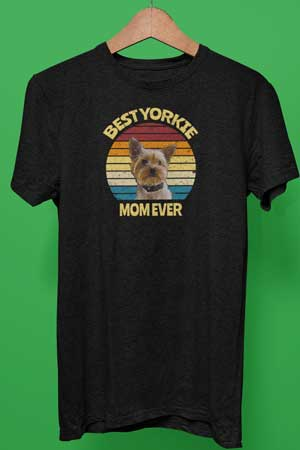 Best Yorkie Mom Ever shirt