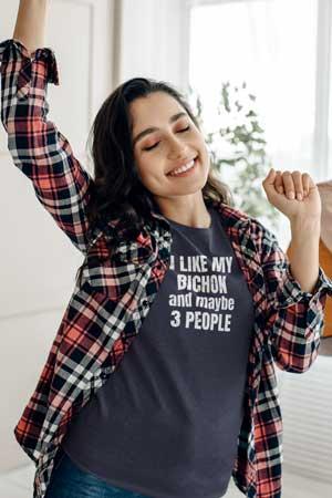 bichon mom shirt