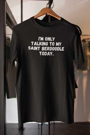 saint berdoodle shirt