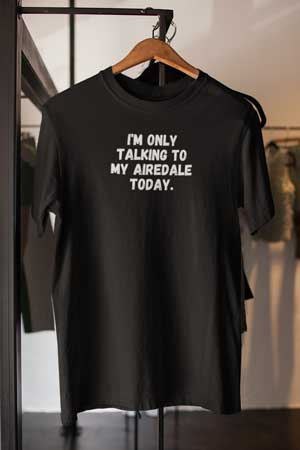 Airedale shirt
