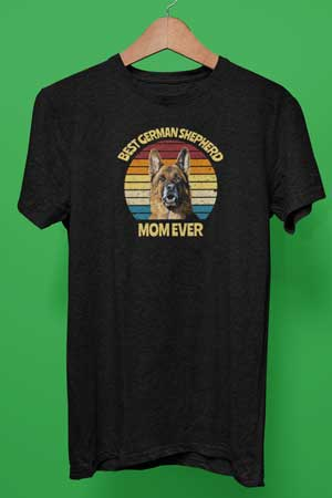 best german shepherd mom ever shirt