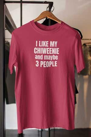 chiweenie shirt