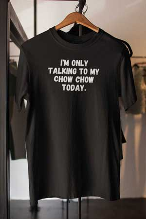 chow chow shirt