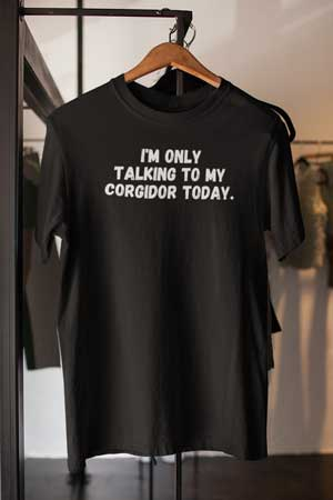 Corgidor shirt