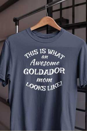 goldador shirt Awesome Dog Mom