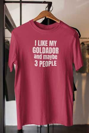 goldador shirt