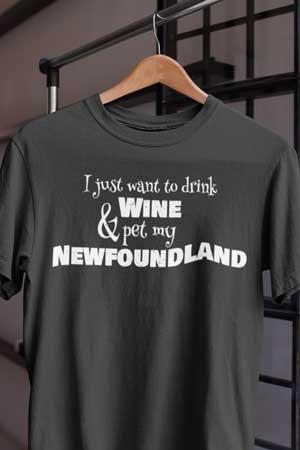 newfoundland wine shirt