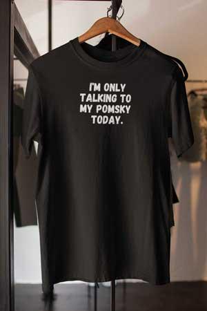 pomsky shirt