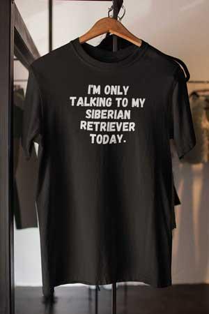 siberian retriever shirt