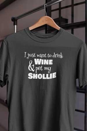 Shollie wine shirt