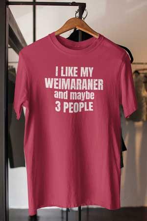 weimaraner shirt