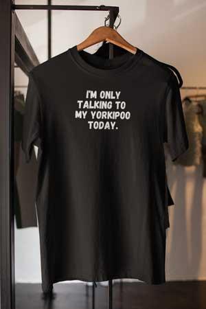 Yorkipoo shirt