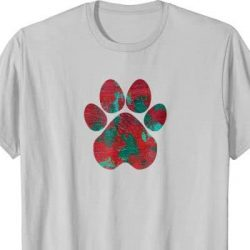 Crimson Storm Paw T-shirt